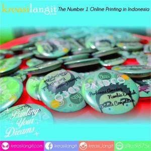 Pin yang kami cetak untuk event dari Perbanas Surabaya